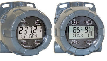 NEMA 4X Field-Mounted Meters Keep Critical Data In Clear View