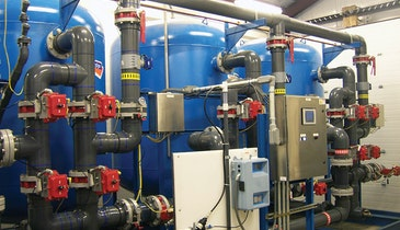Biological filtration for groundwater treatment