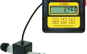 Paddlewheel Flowmeter With Analog Output Provides Remote Communication