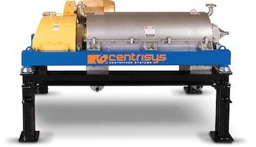 Polymer-Saving THK Thickening Centrifuge