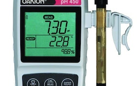 Portable pH, Conductivity And DO Meters Compensate For Fluctuating Temperature