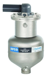 DeZURIK high-performance combination air valves solve problems caused by pipeline grease