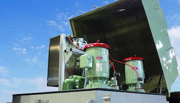 Smith & Loveless Everlast Above-Grade Pump Station Offers Easy Access