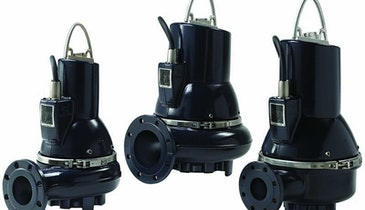 Submersible Pumps Designed For Large Flows and Unscreened Sewage, Including Wipes