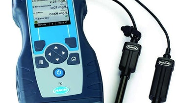 Hach Portable Parallel Analyzer Tests Multiple Parameters at Once