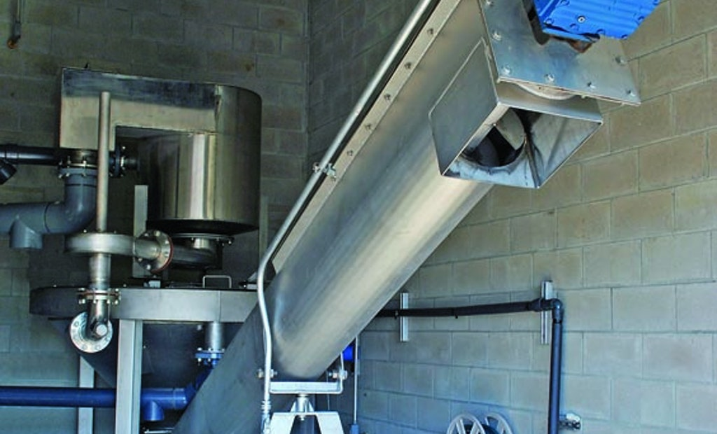 Grit Dewatering, Washing System Designed For Smaller Treatment Plants