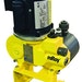 Hydraulically balanced diaphragm pump designed for long life