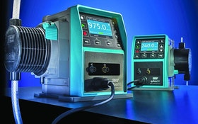 No-Valve Metering Pumps Reduce Maintenance And Chemical Exposure