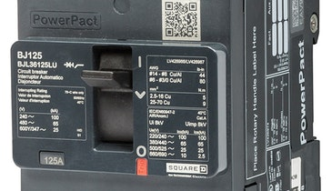 B-frame circuit breaker offers smaller footprint, installation flexibility