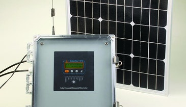 No Batteries To Change, Solar-Powered Flowmeter Works For Days Without Sun