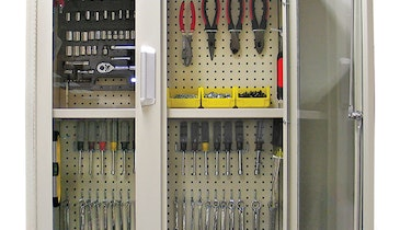 5S Cabinets Keep Work Areas Organized And Secure