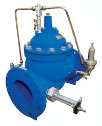 A valve and flowmeter in one