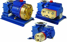 Multiple-diaphragm P-Series Hydra-Cell Metering Pumps Minimize Pulsations for Even Flow