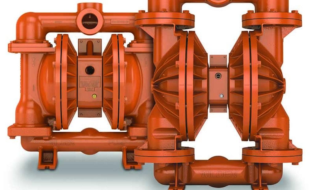 Wilden High-Pressure Aluminum Pump Handles Viscous, Solids-Laden Slurries