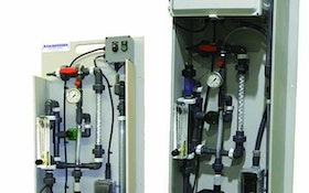 Chemical/Polymer Feeding Equipment - Pulsafeeder PULSAblend polymer makedown systems