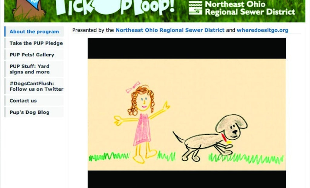 An Ohio District's Education Program Pushes Proper Handling Of Pet Waste