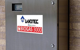 QED Environmental Systems LANDTEC BIOGAS 3000 fixed gas analyzer
