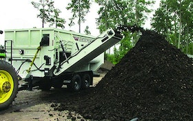 Composting Equipment - Staggered rotor mixer