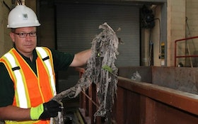 Study Shows 'Flushable' Wipes Don't Disperse in Sewer Systems