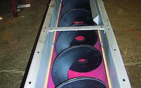 Screw Conveyors - Shaftless screw conveyor