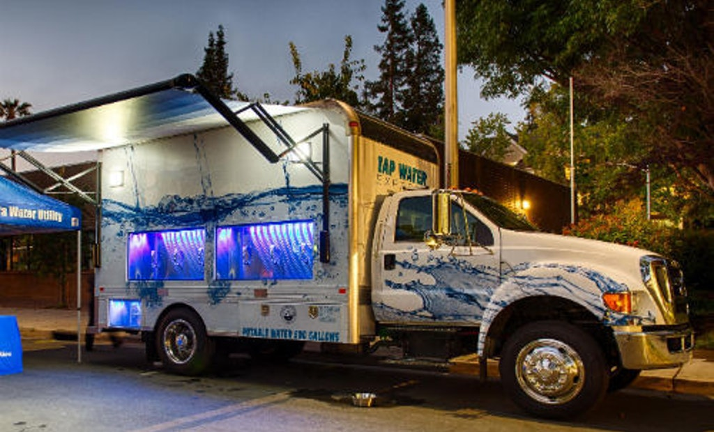 Get Your Groove On, California! The Tap Water Express Has Arrived