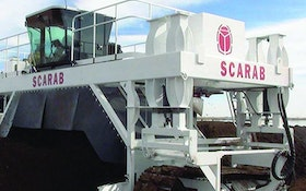 Composting Equipment - Scarab International Compost Windrow Turner