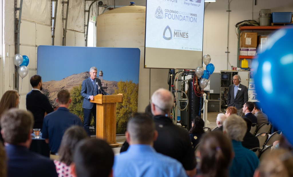 School of Mines Creates Water Treatment Technology Hub