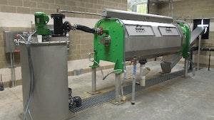 Belt Filter/Rotary Presses - Schwing Bioset dewatering screw press