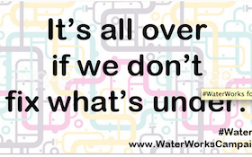 Join the #WaterWorks Thunderclap