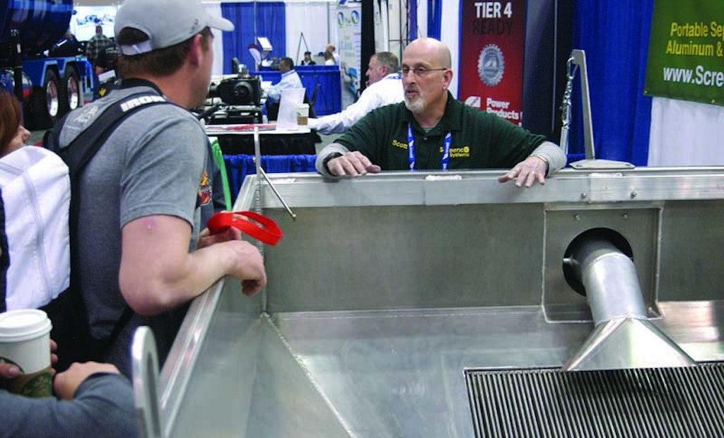 Dewatering Plant Owner Markets His Receiving Station to the Industry