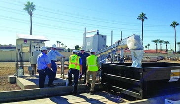 Automated Bar Screen Solves Problems At Arizona Lift Station