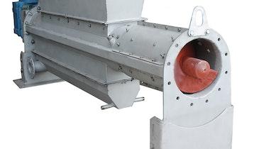 Conveyor/Compactor Keeps  Screenings from Clogging Plant