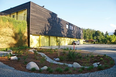 Plants Are Part of the Process in This British Columbia Community's LEED Gold Facility