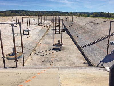 A Concrete Cure: Repairing a Deteriorated Lagoon System