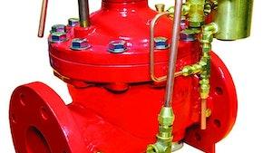 Singer Valve deluge fire valves