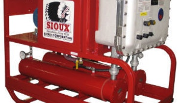 Sioux Corporation Improves All-Electric Pressure Washer