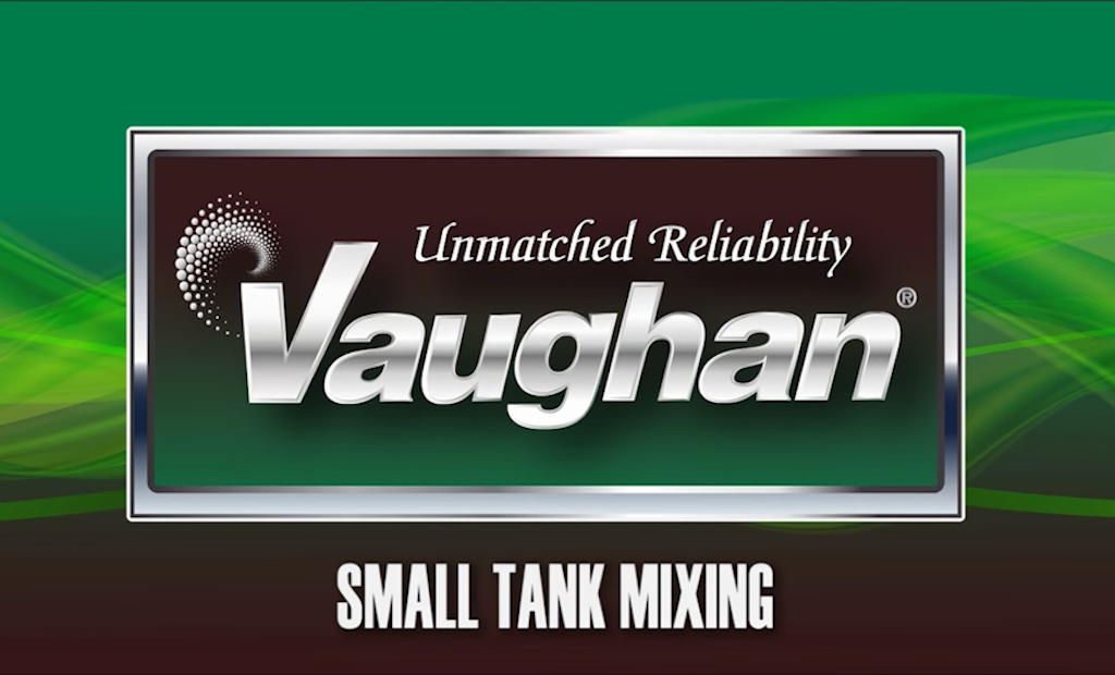 Small But Mighty Tank Mixing