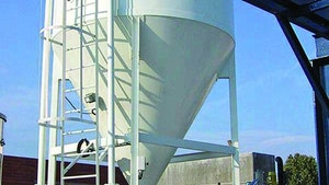 Bins/Hoppers/Silos - Chemical storage, discharge and feed system