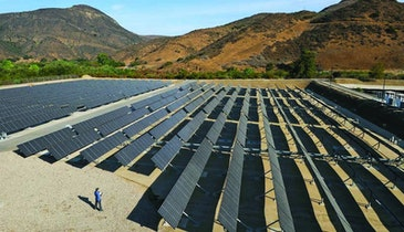 Biogas and Solar Drive Hill Canyon Wastewater Plant
