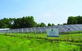 10-Acre Solar Facility Lowers Energy Bills At Treatment Plant