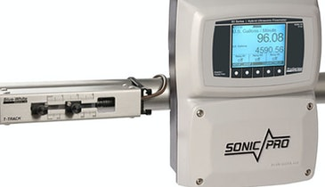 Get Accurate, Reliable Measurements with Sonic-Pro Flowmeters