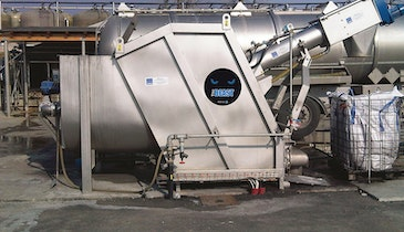 Septage Screening System Cuts Truck Unloading Time