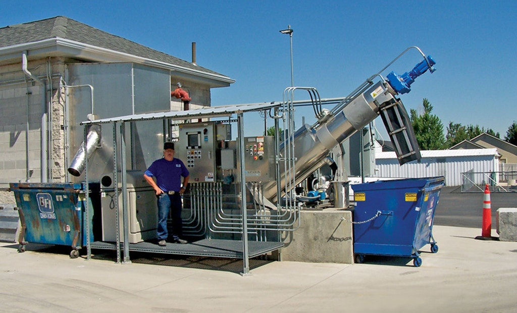 Star, Idaho, Plant Solves MBR Fouling Issues with RPPS Fine Screen
