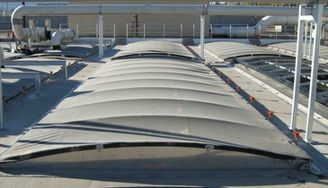 Control Odors With Structurally Supported Cover Systems