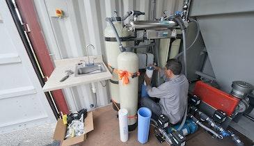 Wastewater solutions for sole source aquifer island region