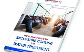 Operations/Maintenance/Process Control Software - Thermal Edge Enclosure Cooling for Water Treatmen