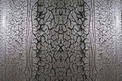 Squiggles & Cracks: Operator Creates Biosolids Art Photography