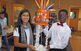 Creative Spirit on Display at Model Water Tower Competition