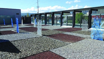 Landscaping And Sculptures Give Treatment Plant A Resort Vibe