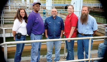 Low Turbidity is the Robert A. Harris Water Filtration Plant's Claim to Fame
